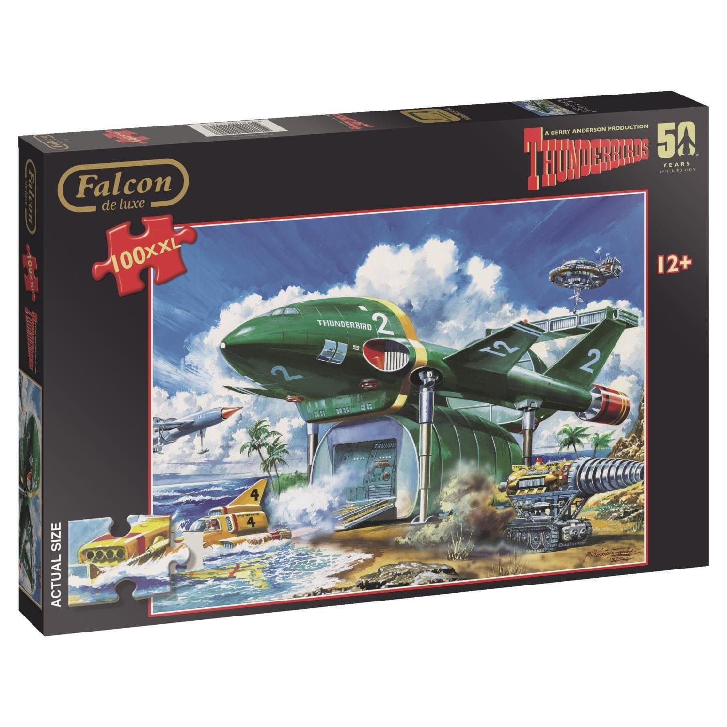 Thunderbirds 100XL Piece Jigsaw Puzzle - Gerry Anderson Official - 1