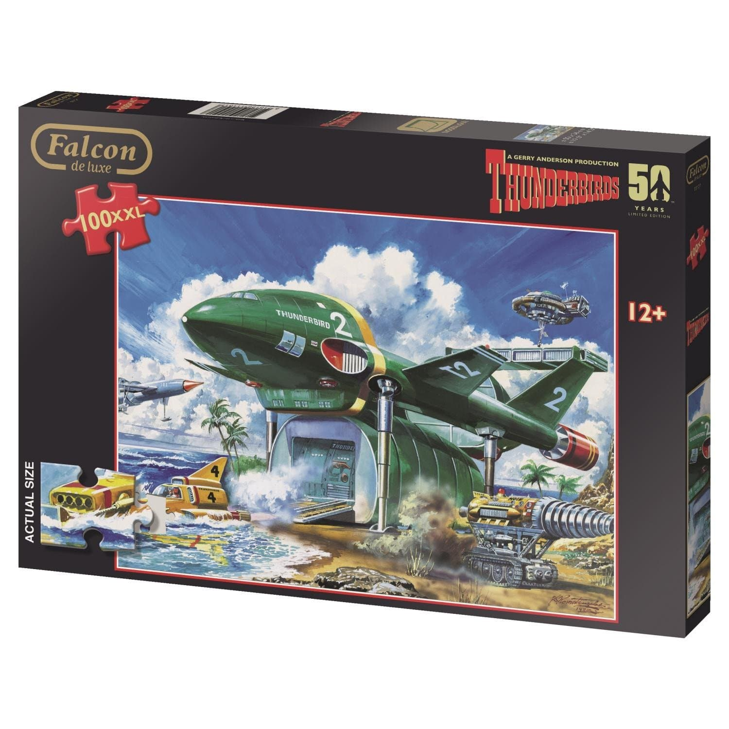 Thunderbirds 100XL Piece Jigsaw Puzzle - Gerry Anderson Official - 4