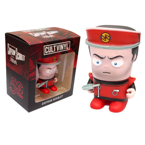Captain Scarlet - Limited Edition Cult Vinyl Figure - The Gerry Anderson Store