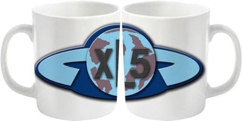Fireball XL5 Badge Mug - The Gerry Anderson Store