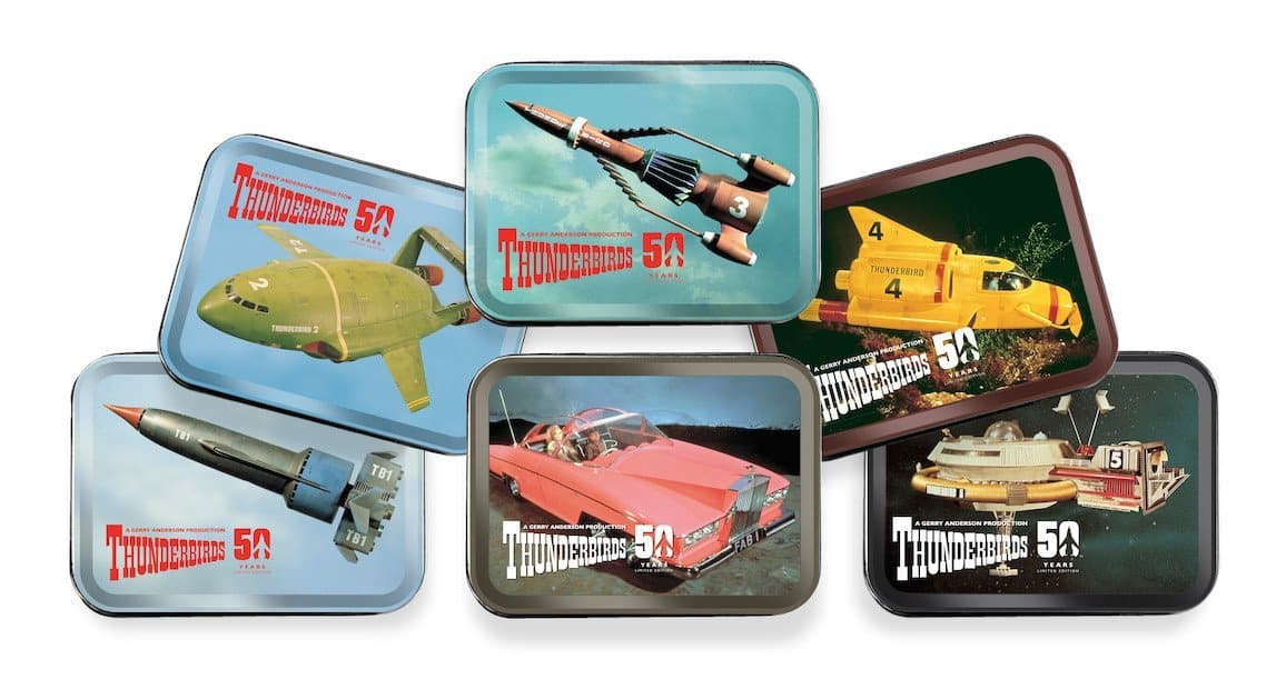 Thunderbirds Tinamps - Full Set Limited Edition - available now with 2 weeks delivery time - Gerry Anderson Official