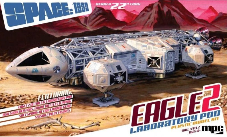 1999 EAGLE Deluxe Accessory Pack 1:48 MPC Model Kit MKA014 Moonbase Alpha Space
