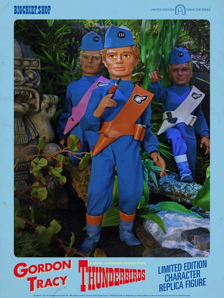 1/6 Scale Gordon Tracy Character Replica Thunderbirds Figure from Big Chief Studios - The Gerry Anderson Store