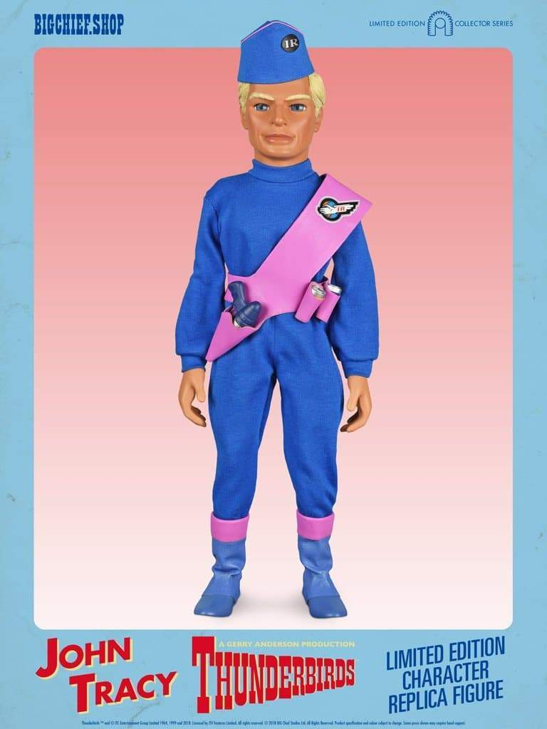 1/6 Scale John Tracy Character Replica Thunderbirds Figure from Big Chief Studios - The Gerry Anderson Store