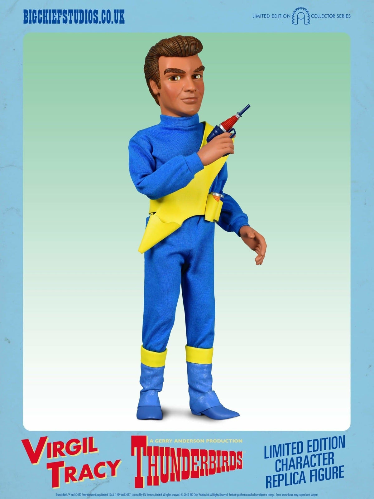 1/6 Scale Virgil Tracy Character Replica Thunderbirds Figure from Big Chief Studios - The Gerry Anderson Store