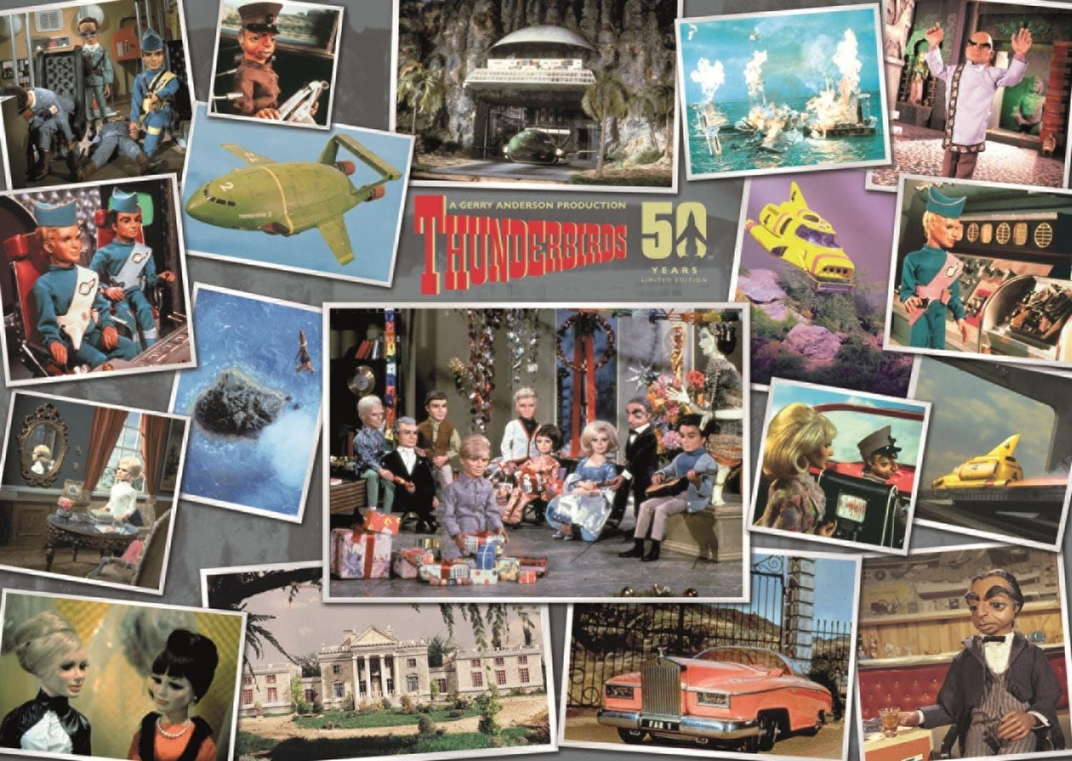 Thunderbirds 50th Anniversary Puzzle - Gerry Anderson Official - 3