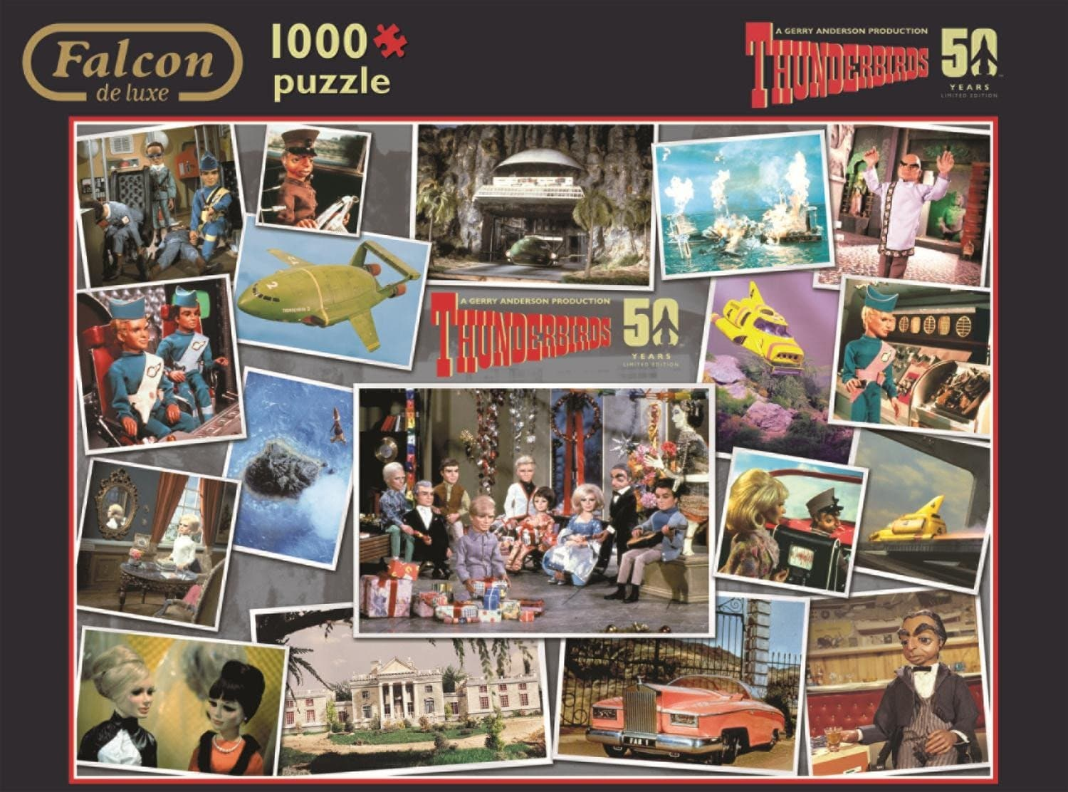 Thunderbirds 50th Anniversary Puzzle - Gerry Anderson Official - 2