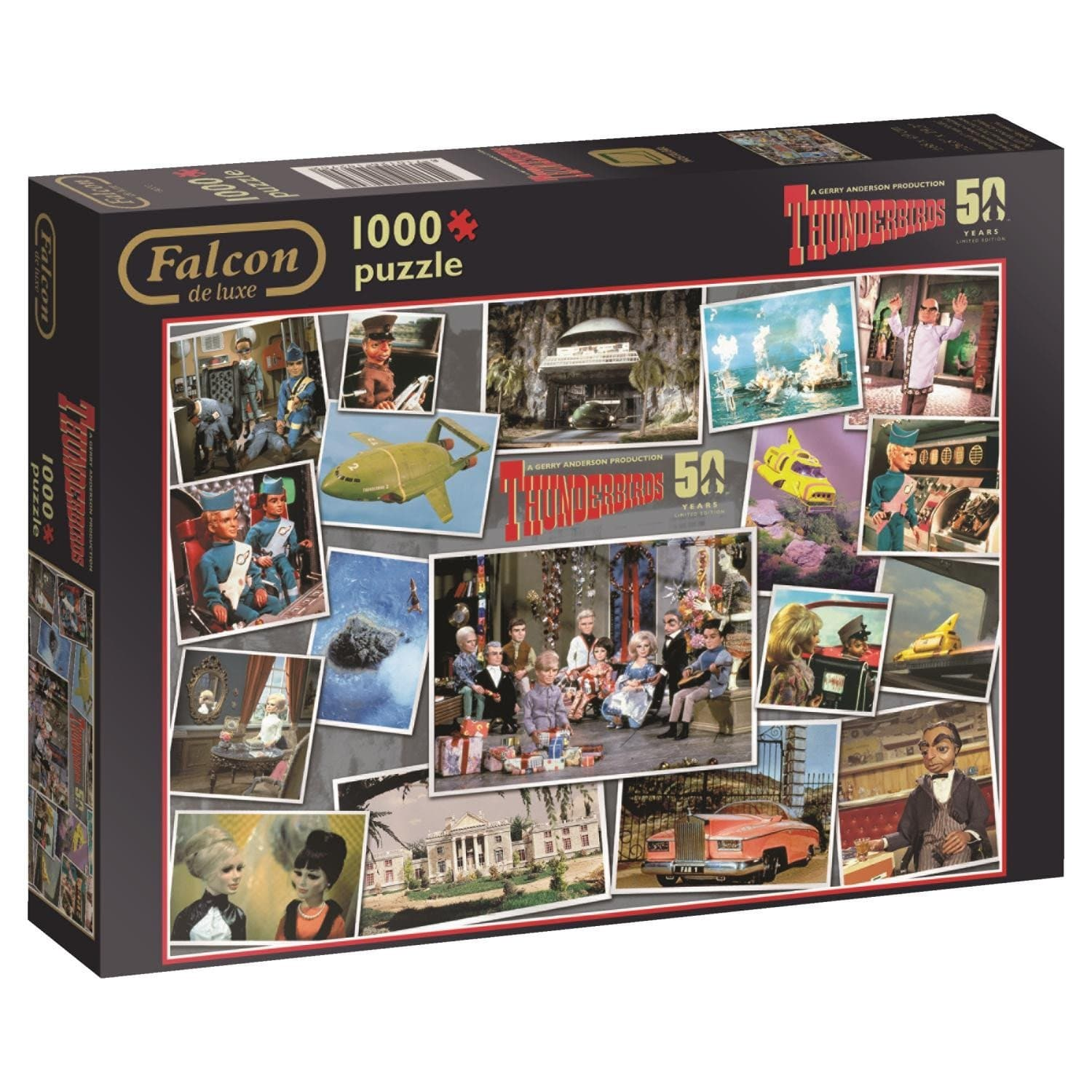 Thunderbirds 50th Anniversary Puzzle - Gerry Anderson Official - 1