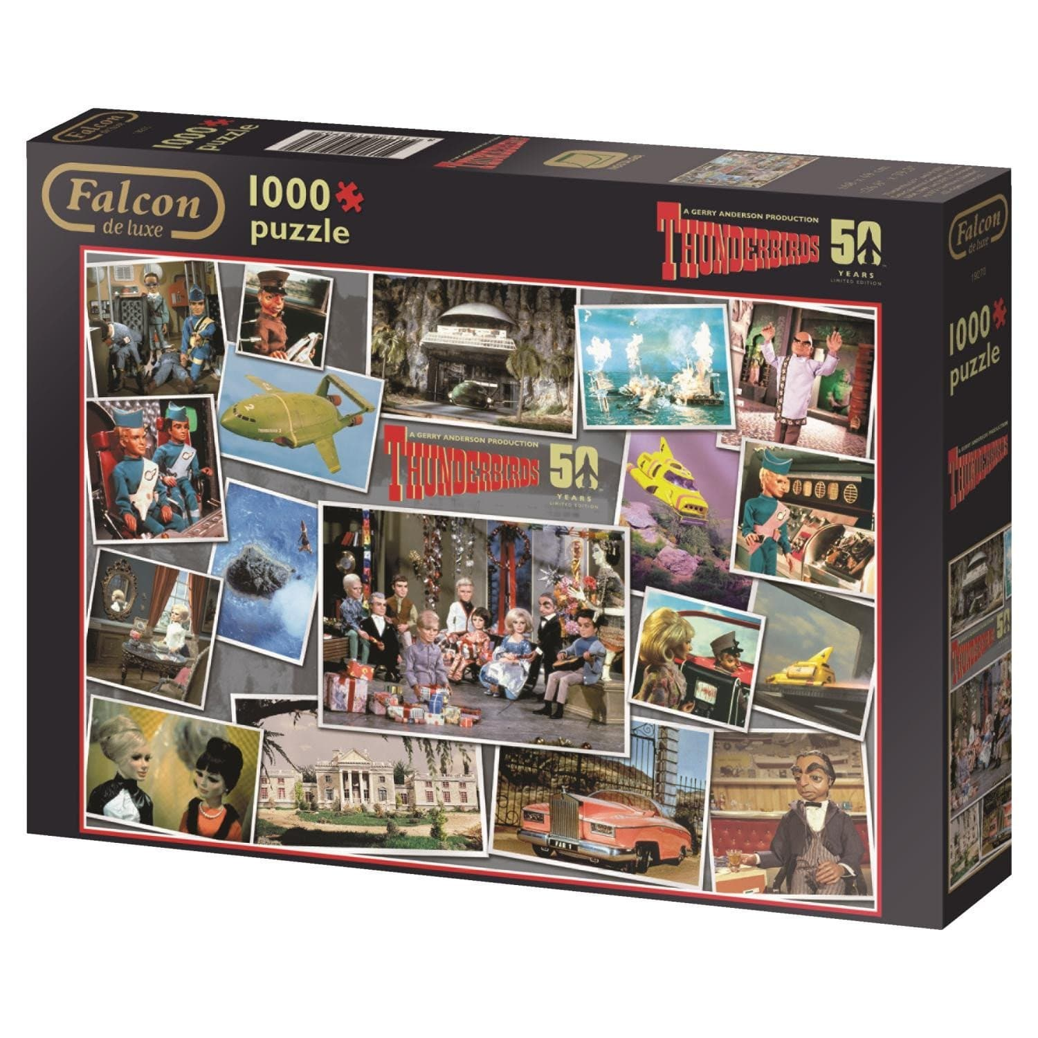 Thunderbirds 50th Anniversary Puzzle - Gerry Anderson Official - 4