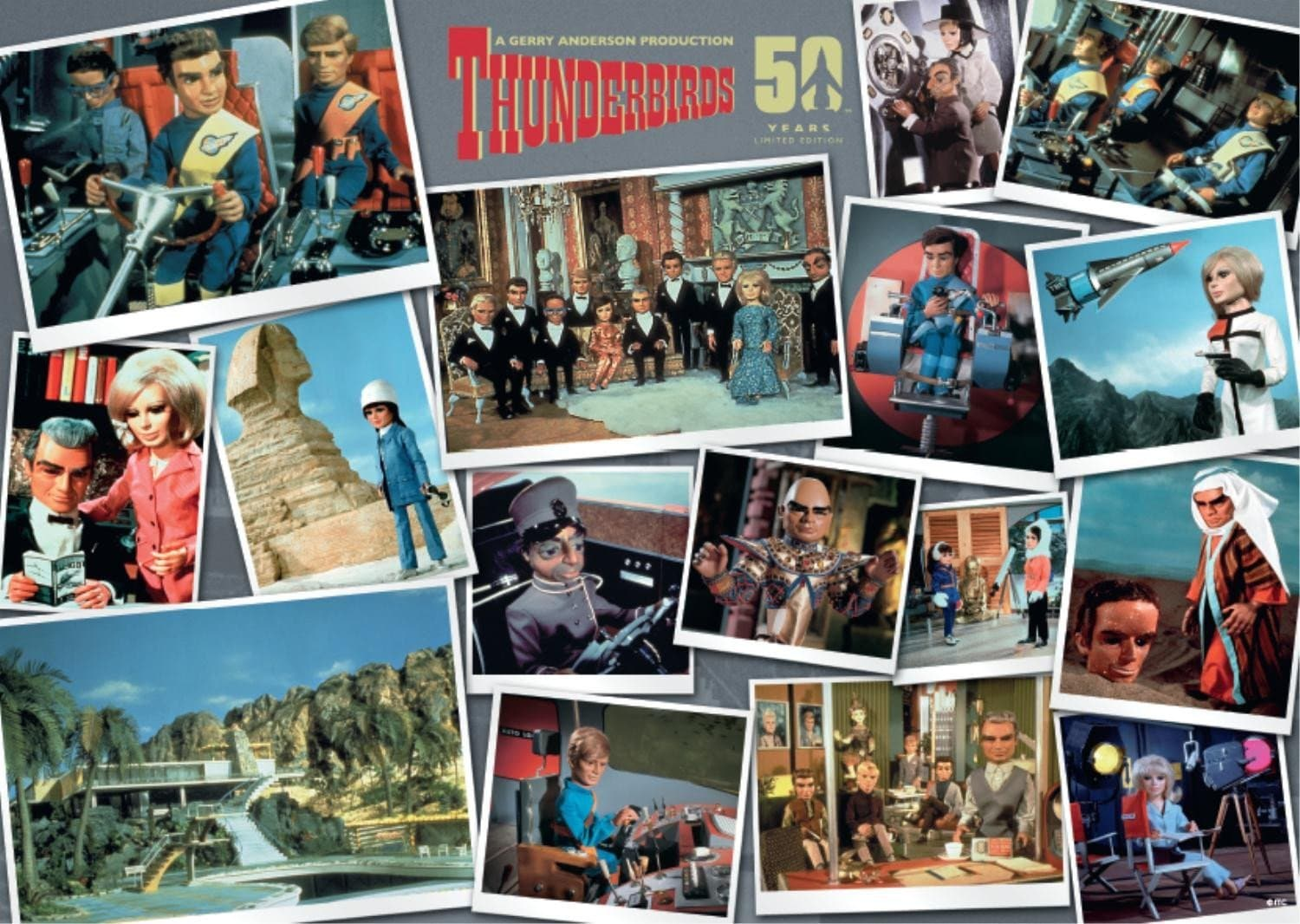 Thunderbirds 3x500pcs Collector's Box Set - Gerry Anderson Official - 4
