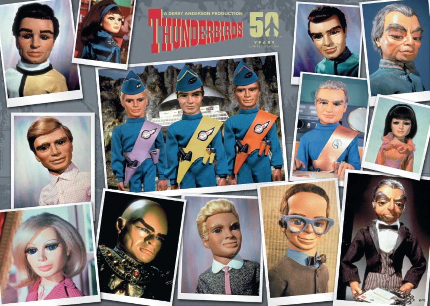 Thunderbirds 3x500pcs Collector's Box Set - Gerry Anderson Official - 5