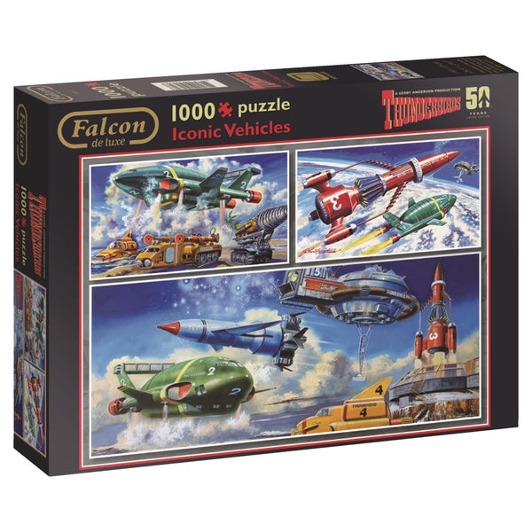 Thunderbirds Iconic Vehicles 1000 piece Jigsaw Puzzle - Gerry Anderson Official - 1