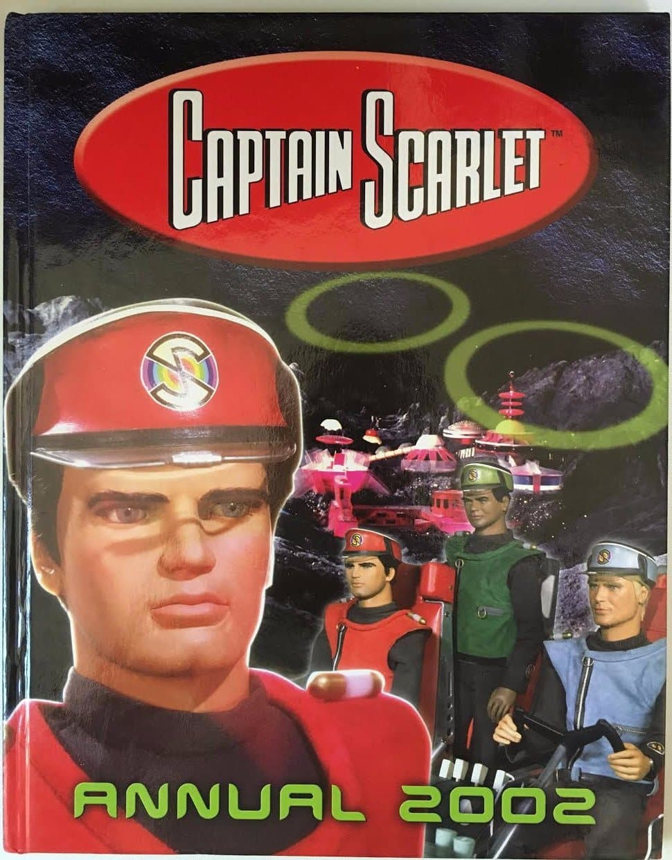 Captain Scarlet Official Annual (2002) - The Gerry Anderson Store