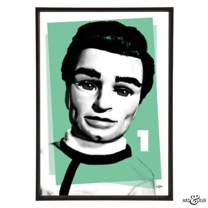 Pop Art Portrait of Scott Tracy - The Gerry Anderson Store