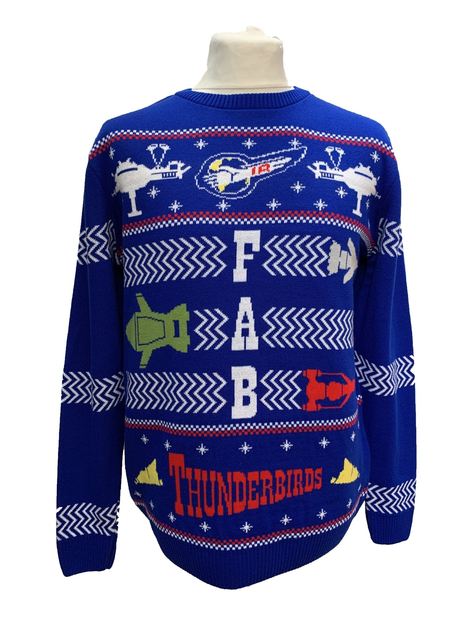 2020 Thunderbirds Christmas Jumper/Sweater [Official & Exclusive] - The Gerry Anderson Store