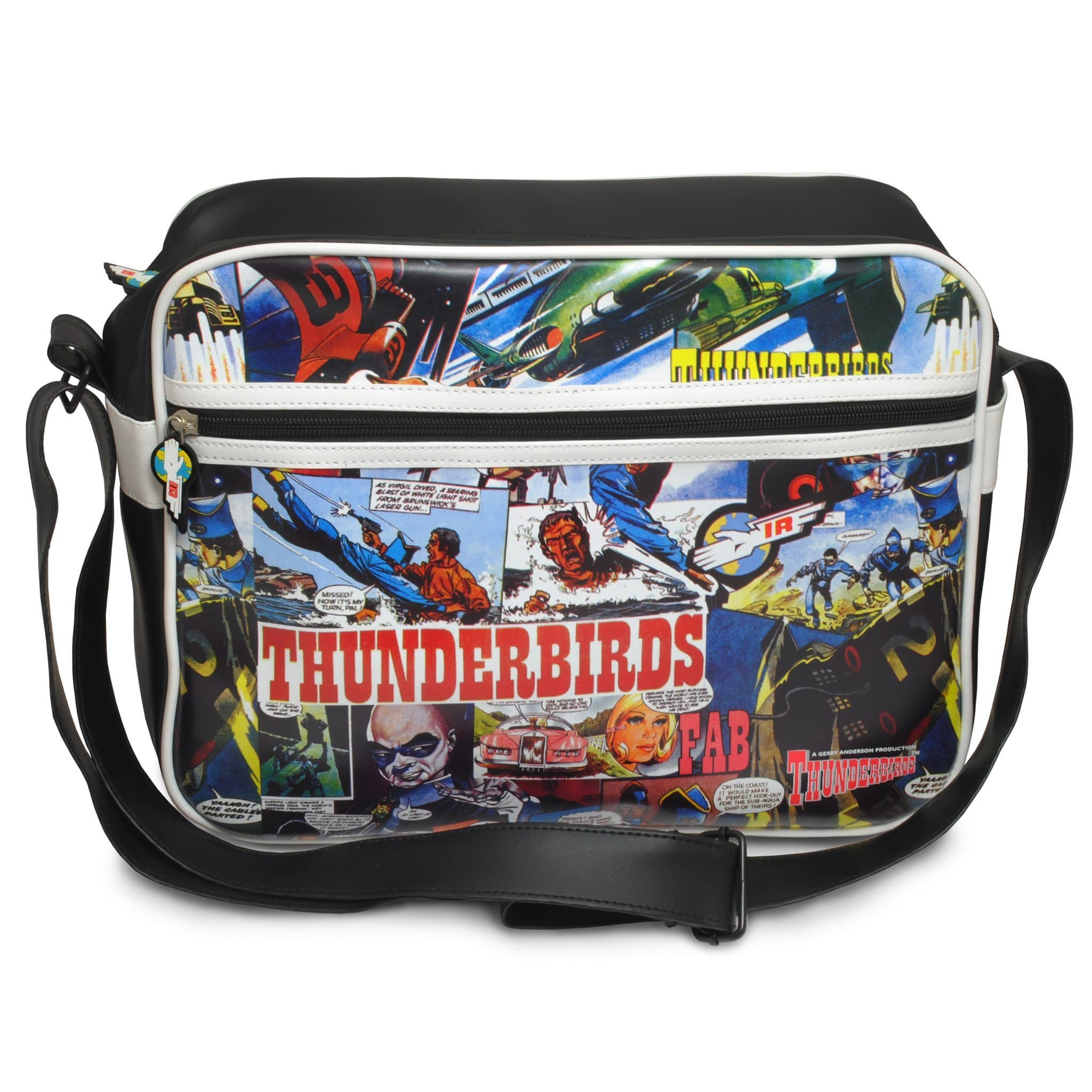 Thunderbirds Comic Strip Messenger Bag - Gerry Anderson Official - 5