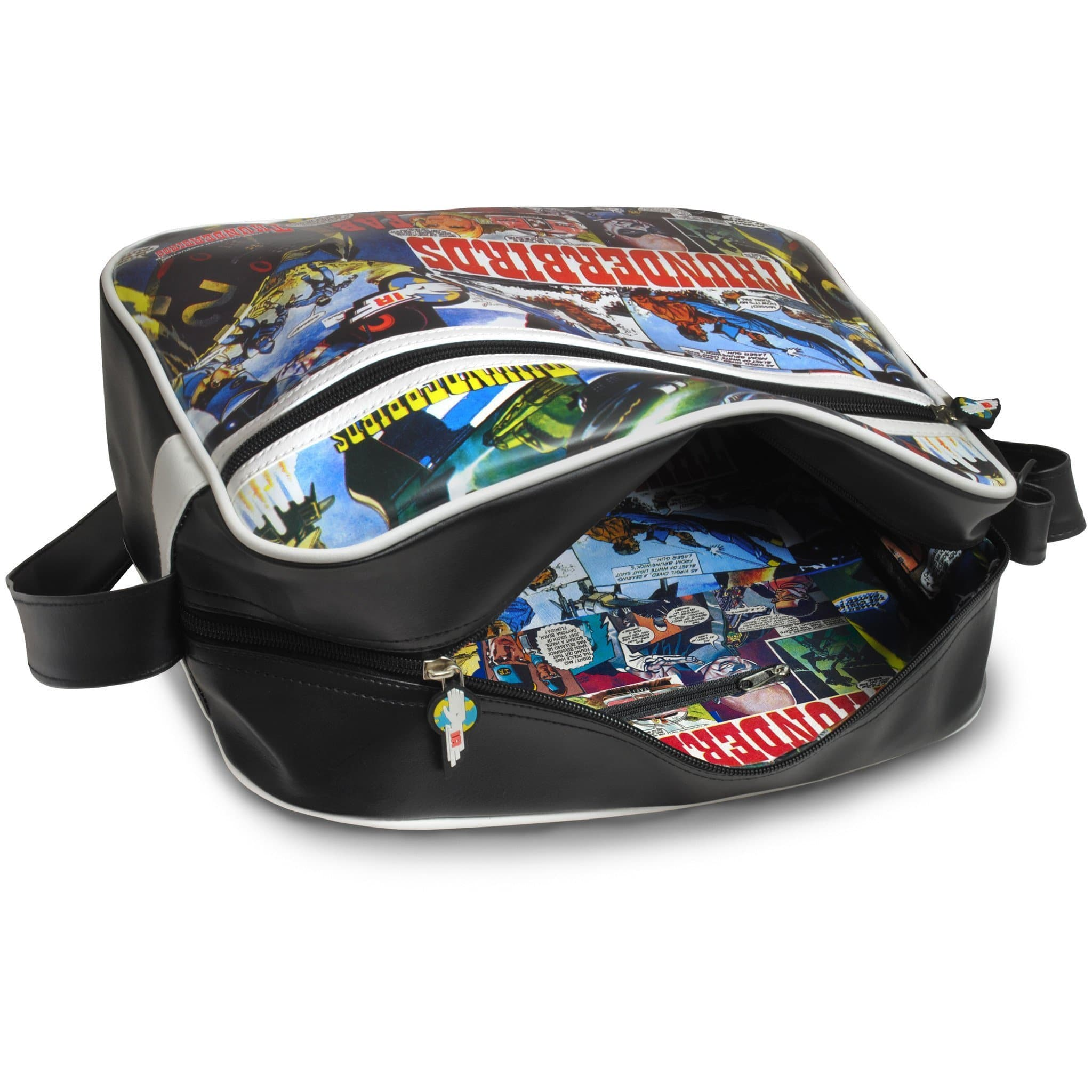 Thunderbirds Comic Strip Messenger Bag - Gerry Anderson Official - 4