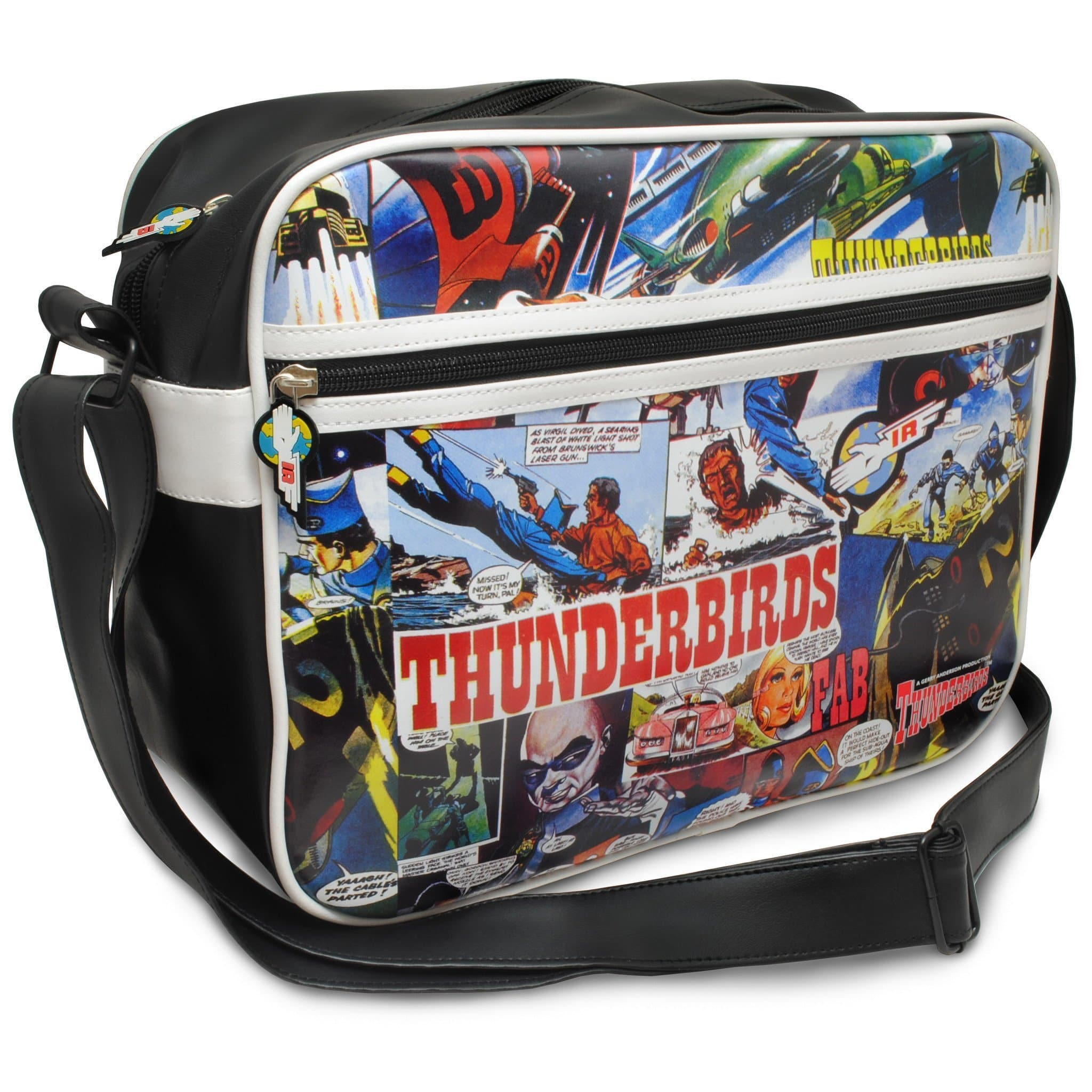 Thunderbirds Comic Strip Messenger Bag - Gerry Anderson Official - 3