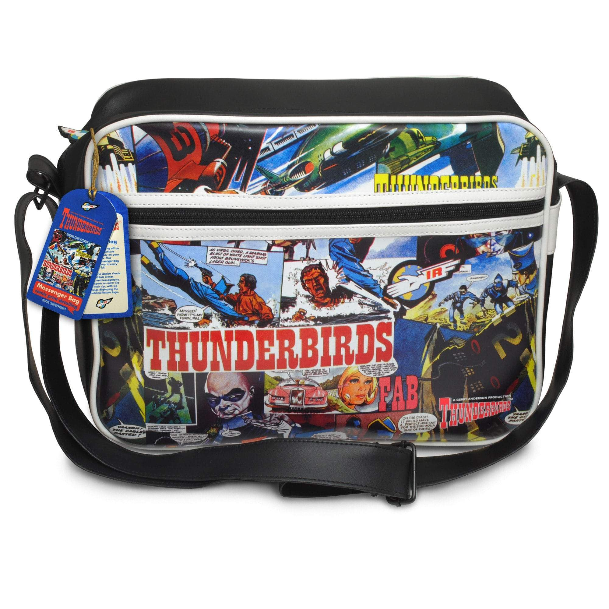 Thunderbirds Comic Strip Messenger Bag - Gerry Anderson Official - 2