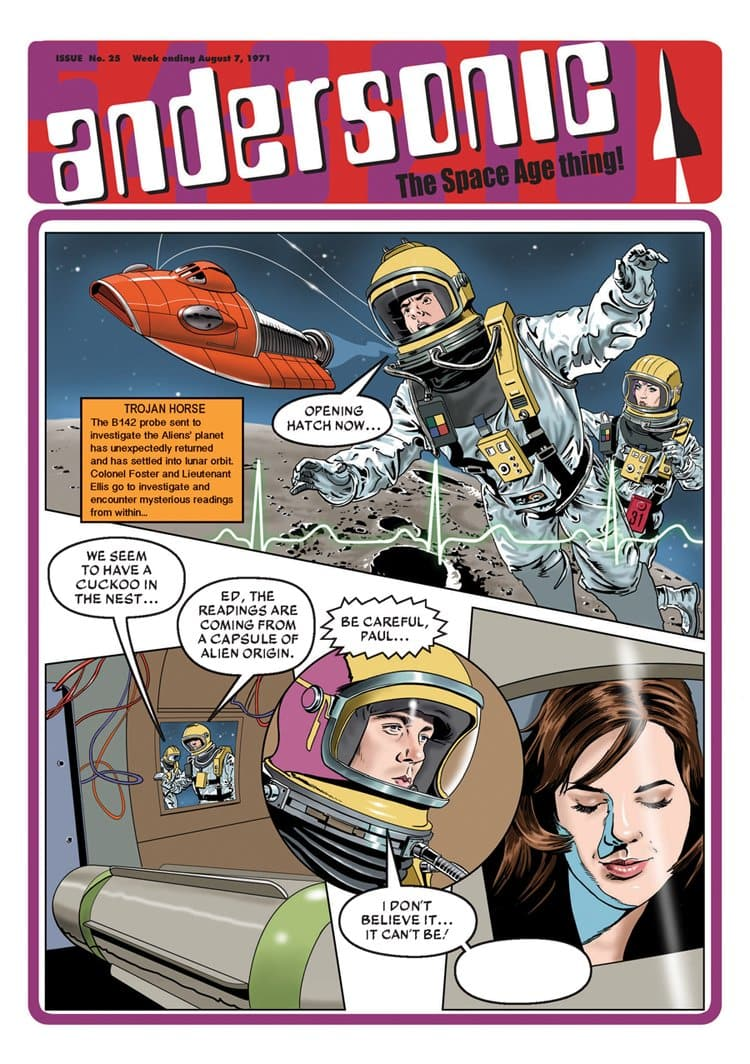 Andersonic Fanzine - Issue 25 (Summer 2019) - The Gerry Anderson Store