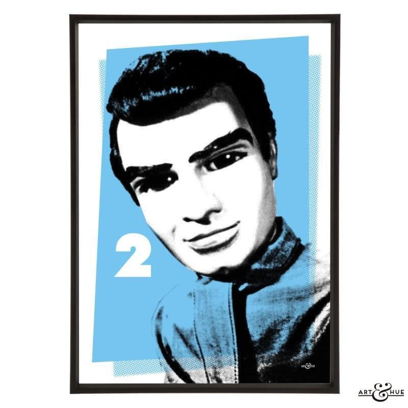 Pop Art Portrait of Virgil Tracy - The Gerry Anderson Store