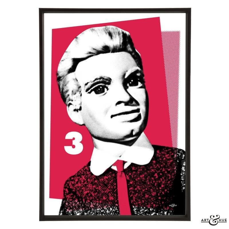 Pop Art Portrait of Alan Tracy - Gerry Anderson Official - 16