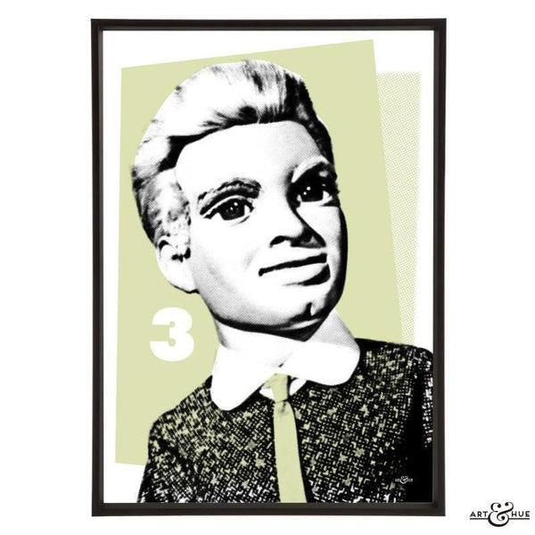 Pop Art Portrait of Alan Tracy - The Gerry Anderson Store