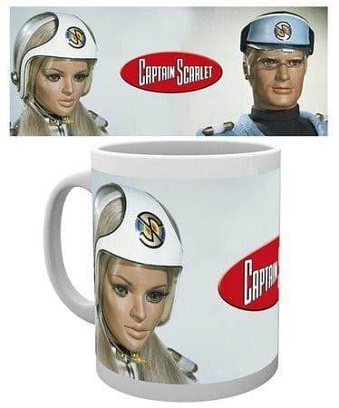 Captain Scarlet Characters Mug - The Gerry Anderson Store