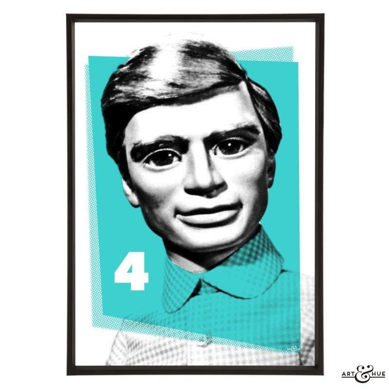 Pop Art Portrait of Gordon Tracy - Gerry Anderson Official - 7