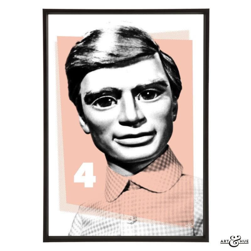 Pop Art Portrait of Gordon Tracy - Gerry Anderson Official - 13
