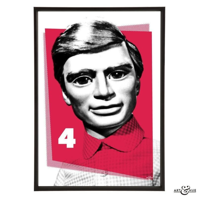 Pop Art Portrait of Gordon Tracy - Gerry Anderson Official - 16