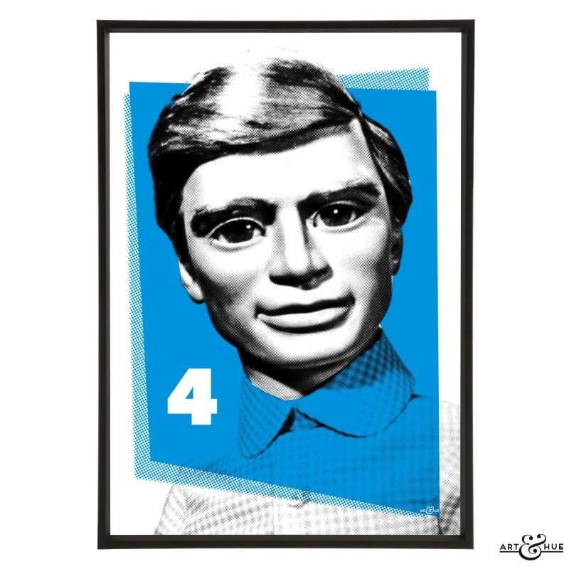 Pop Art Portrait of Gordon Tracy - Gerry Anderson Official - 8