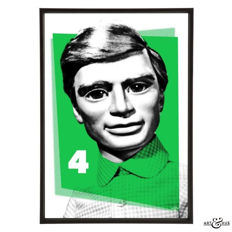 Pop Art Portrait of Gordon Tracy - Gerry Anderson Official - 6