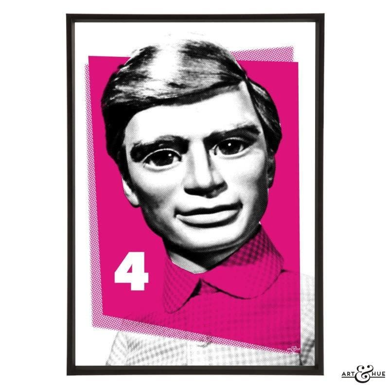 Pop Art Portrait of Gordon Tracy - Gerry Anderson Official - 15