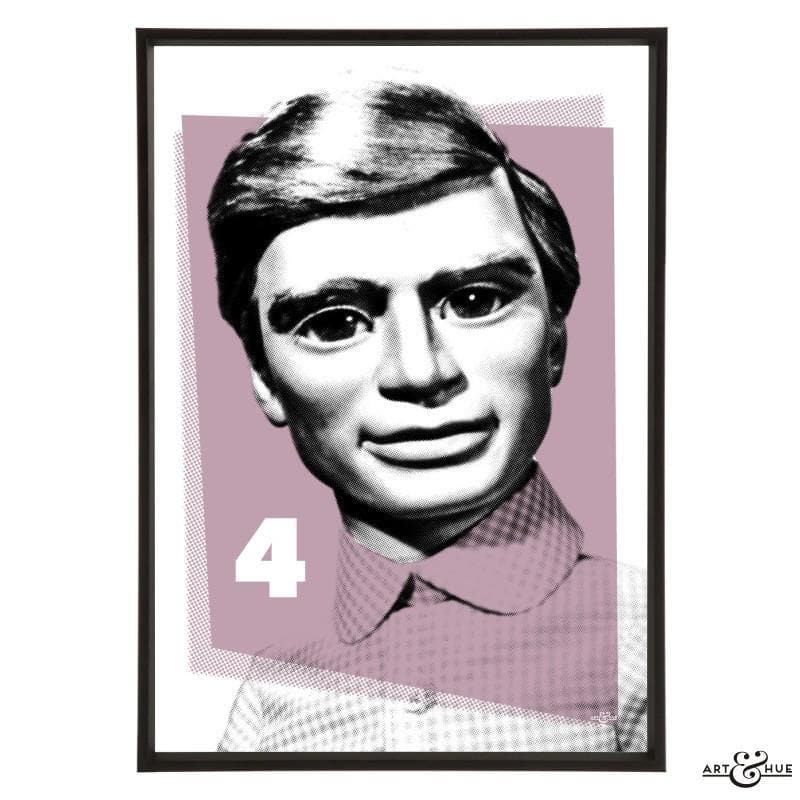 Pop Art Portrait of Gordon Tracy - Gerry Anderson Official - 12