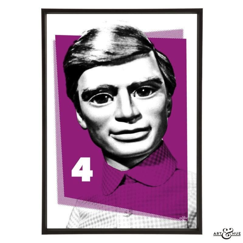 Pop Art Portrait of Gordon Tracy - Gerry Anderson Official - 11