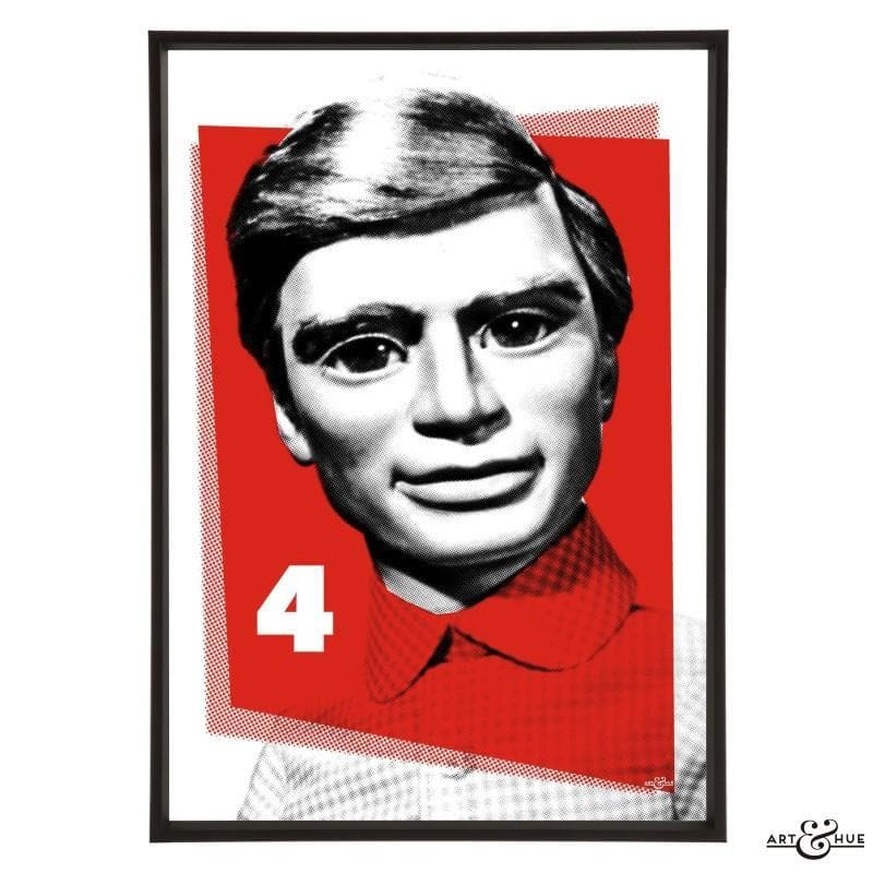 Pop Art Portrait of Gordon Tracy - Gerry Anderson Official - 2
