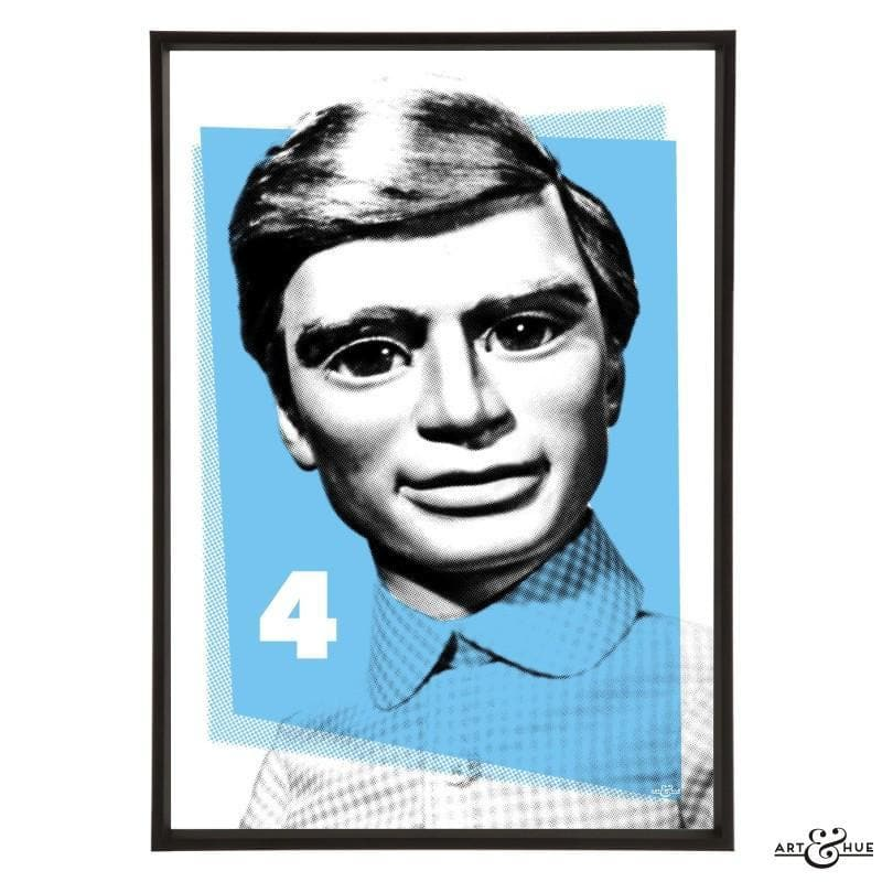 Pop Art Portrait of Gordon Tracy - Gerry Anderson Official - 9