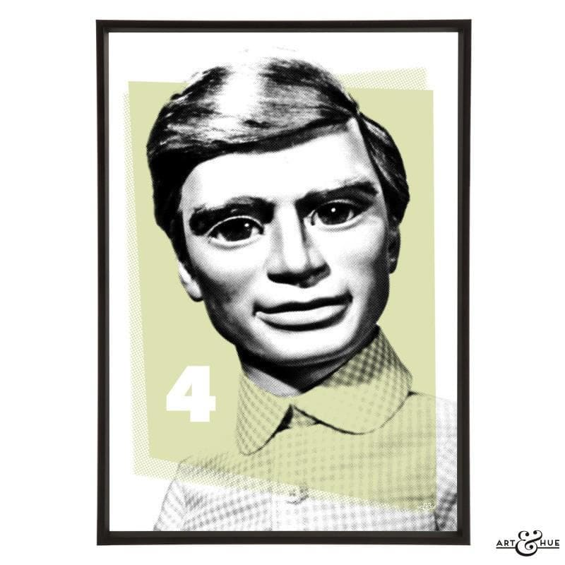Pop Art Portrait of Gordon Tracy - The Gerry Anderson Store
