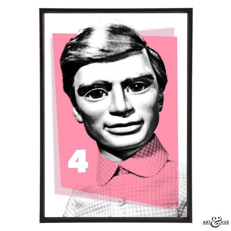 Pop Art Portrait of Gordon Tracy - Gerry Anderson Official - 14