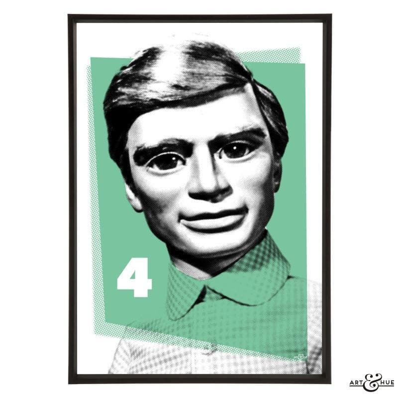 Pop Art Portrait of Gordon Tracy - Gerry Anderson Official - 5