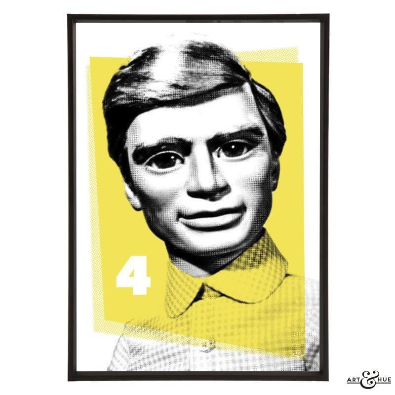 Pop Art Portrait of Gordon Tracy - Gerry Anderson Official - 3