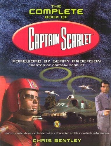 The Complete Book of Captain Scarlet (2001) - The Gerry Anderson Store