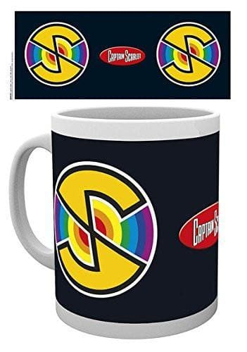 Captain Scarlet Logo Mug - The Gerry Anderson Store
