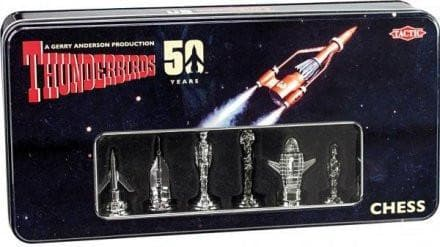 Limited Edition Thunderbirds Chess Set - The Gerry Anderson Store