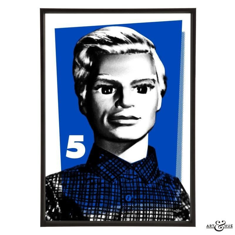 Pop Art Portrait of John Tracy - Gerry Anderson Official - 10