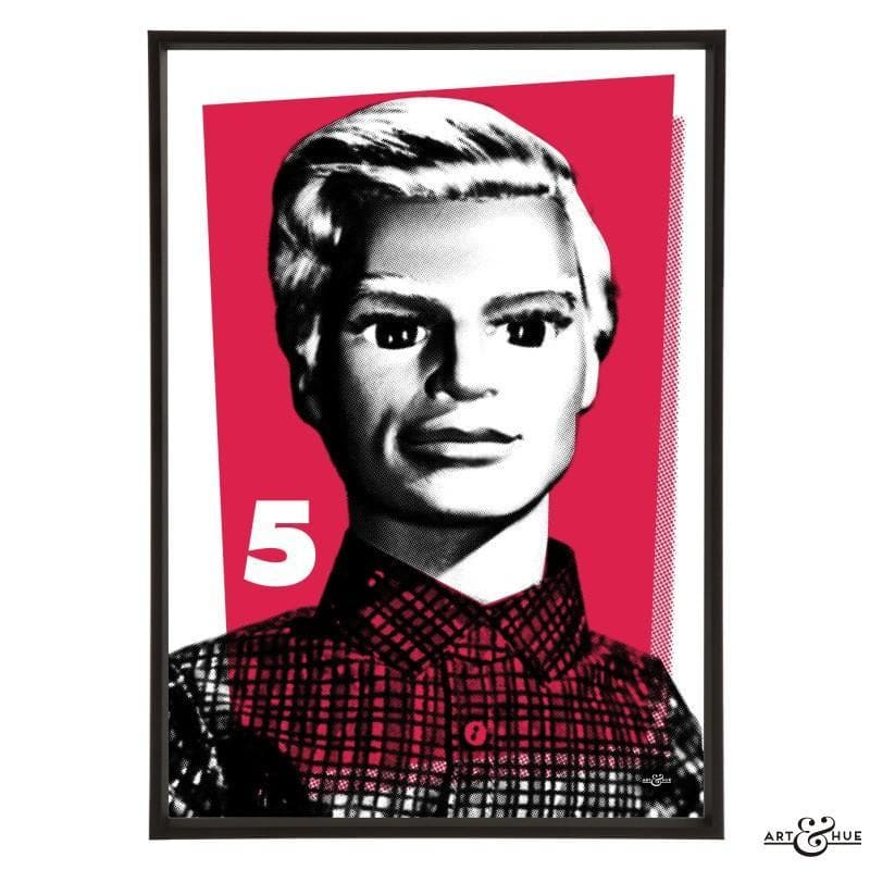 Pop Art Portrait of John Tracy - Gerry Anderson Official - 16