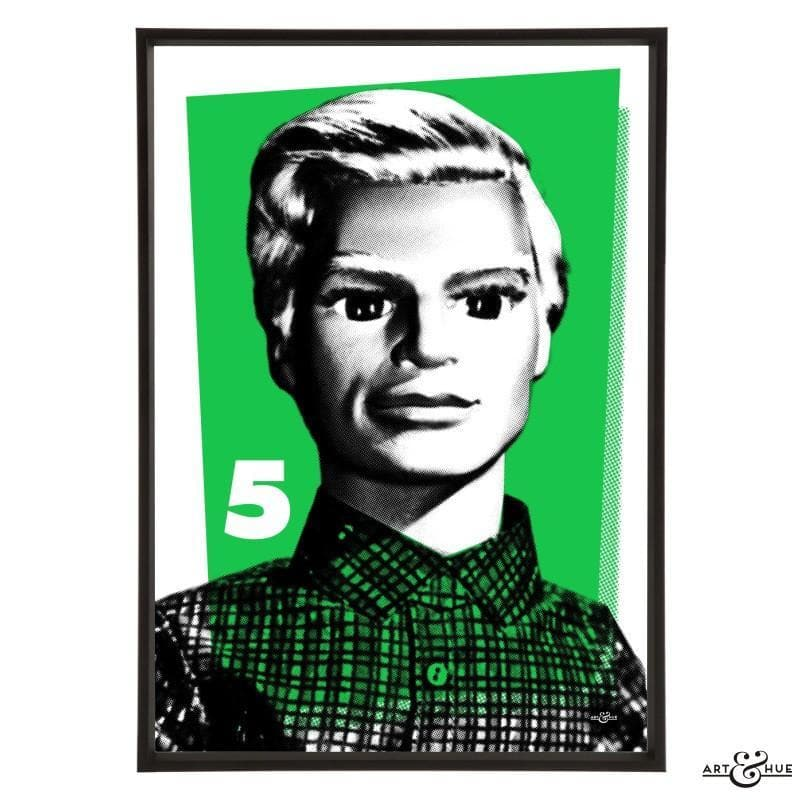 Pop Art Portrait of John Tracy - Gerry Anderson Official - 6
