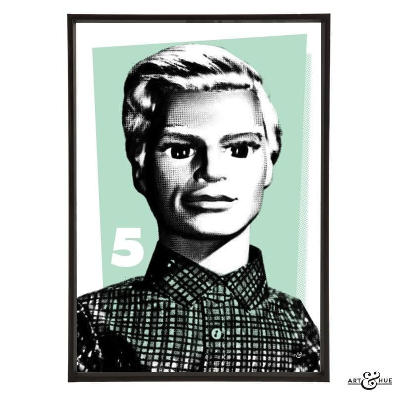 Pop Art Portrait of John Tracy - Gerry Anderson Official - 4