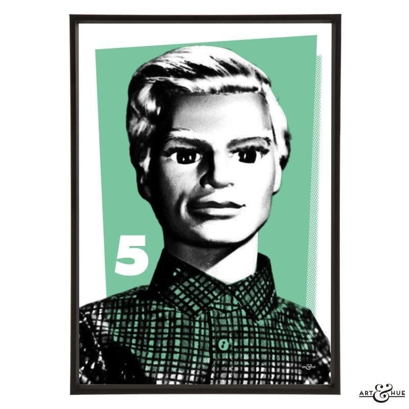 Pop Art Portrait of John Tracy - Gerry Anderson Official - 5